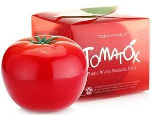 Многофункциональная массажная томатная маска для лица