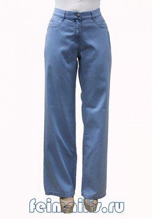 От бедра прямые голубые джинсы TLS70617-2465 рр 11(46)