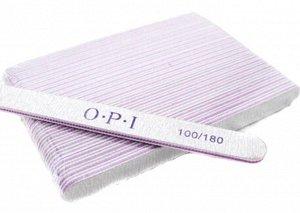 Пилка OPI 100/180  (овал)