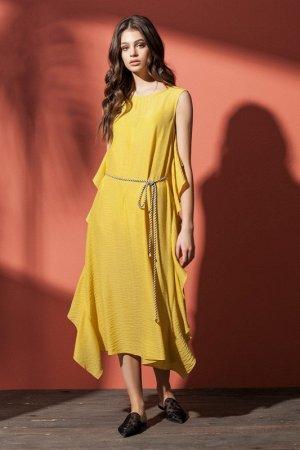 Платье женское Жёлтый