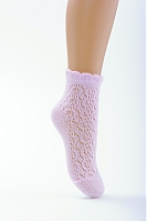 Детские летние ажурные носочки