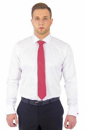 Сорочка приталенная стрейч запонка длинный рукав
