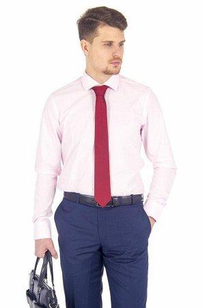 Сорочка приталенная стрейч длинный рукав
