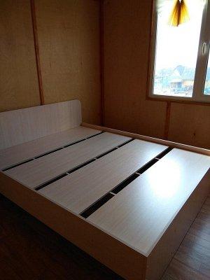 Кровать 1400 №2 (3уп) (Бук тёмный)