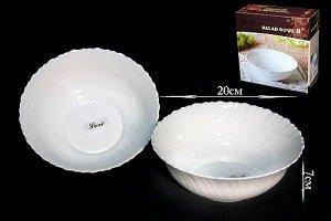 Набор Набор из 2 салатников 20см.ТРИУМФ  в под.уп.(х18) Опаловое стекло  Опаловое стекло