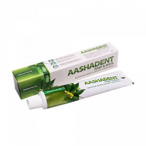 """Зубная паста """"Лавр-Мята"""" Aasha Herbals"""
