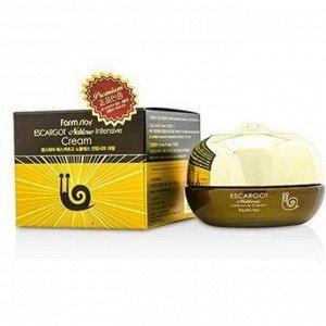 Интенсивно восстанавливающий крем с экстрактом королевской улитки FARMSTAY Escargot Noblesse Intensive Cream, 50мл