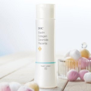 DHC F1 Elastin Collagen Ceramide Placenta Fresh Lotion Освежающий лосьон для молодой кожи