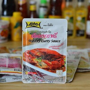 Паста для приготовления тайского жареного карри,50 гр.LOBO (Лобо)