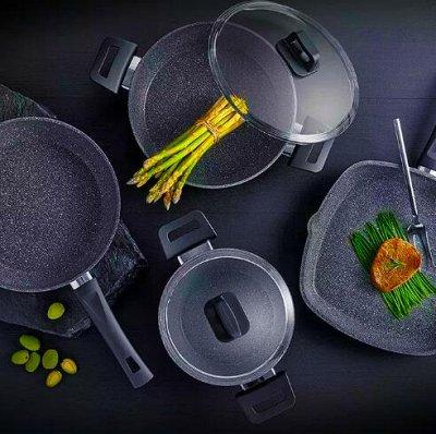😱МЕГА Распродажа !Товары для дома 😱Экспресс-раздача! 30⚡🚀 — Любимые сковородки с каменным покрытие — Сковороды