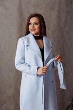 Пальто 20970  (голубой)