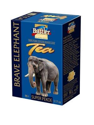 Чай БАТТЛЕР Храбрый слон SUPER PEKOE, 90г