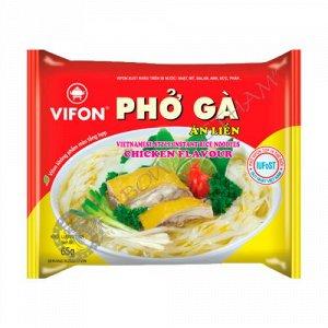Лапша рисовая Вифон PHO BO со вкусом курицы, 65 г