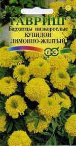 Бархатцы пр. Купидон лимонный (20 см.) (Тагетес) 0,05 г