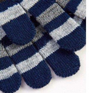 Перчатки 3-8лет СОСТАВ 83% Акрил, 16% полиэстер, 1% эластан