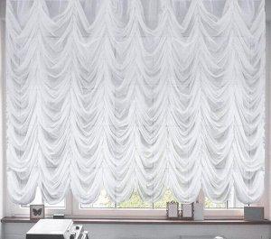 Французские шторы Sunny Цвет Белый