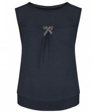 Серый школьный жилет для девочки Цвет: серый