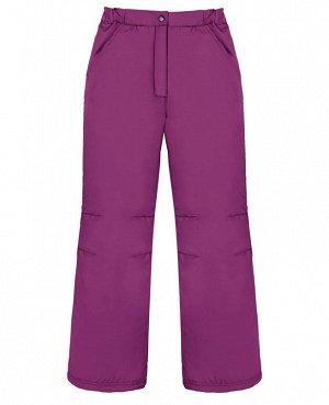 Фиолетовые брюки для девочки