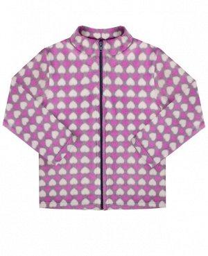 Куртка для девочки Цвет: серый