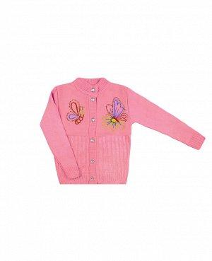 Розовый джемпер для девочки Цвет: бл.розовый