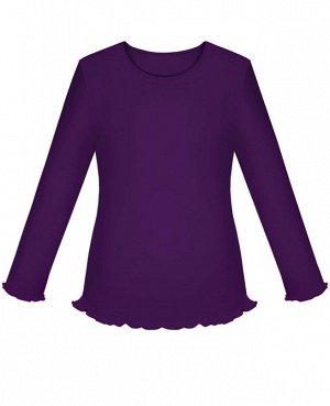 Фиолетовая школьная блузка для девочки Цвет: фиолет