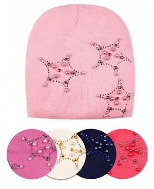 Шапка для девочки в ассортименте Цвет: розовый
