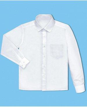 Белая школьная рубашка для мальчика Цвет: белый