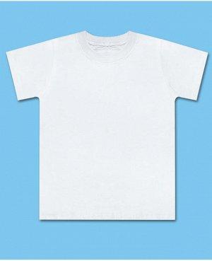 Белая футболка для мальчика Цвет: белый