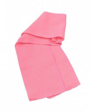 Шарф детский, розовый Цвет: розовый