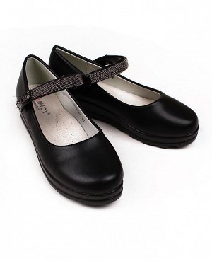 Черные туфли для девочки Цвет: черный