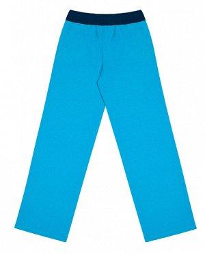 Бирюзовые спортивные брюки для мальчика Цвет: бирюза