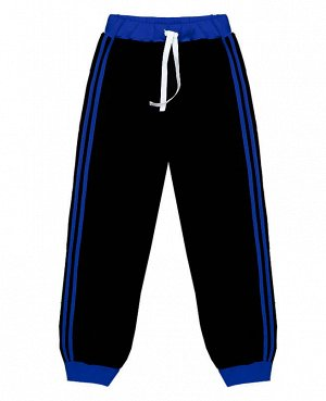 Черные спортивные брюки для мальчика Цвет: черный