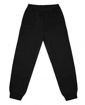 Чёрные брюки(кальсоны )для мальчика Цвет: черный
