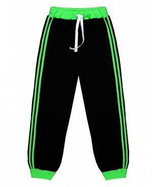 Чёрные спортивные брюки для мальчика Цвет: черный