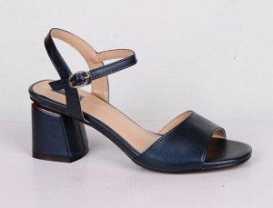 9B050-03-8-8 синий (Иск.кожа/Иск.кожа) Туфли летние открытые женские