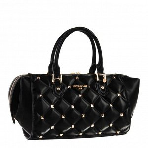 STUDDED QUILTED SMALL HANDBAG