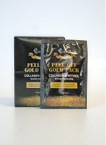 Boon7 Peel Off Gold Pack Collagen&Retinol 1шт*10гр Золотая маска-пленка Коллаген и Ретинол для всех типов кожи