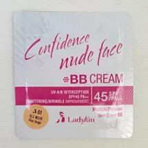 LADYKIN Confidence Nude Face BB Cream SPF45 PA++ ВВ крем для лица пробник 1,5 мл
