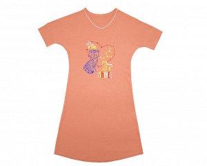 Платье или сорочка на девочку ростом 122-128
