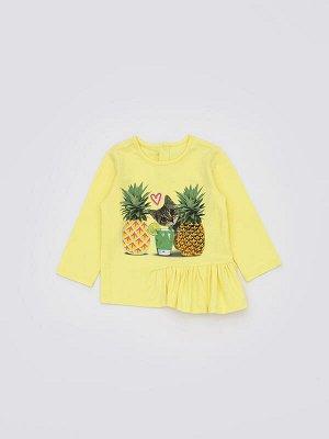 0524102015 (желтый) Джемпер детский для девочек Rexa желтый