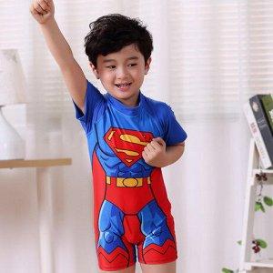 Купальный костюм супермен