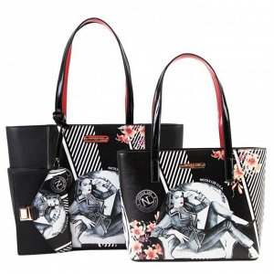PRT14073 SHOPPER BAG 3PC SET  набор сумок