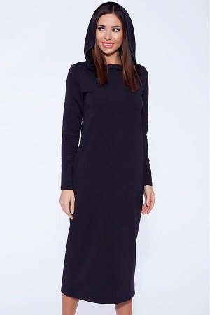 Худи -платье (VISERDI) Темно-синий
