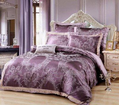 Роскошная постель - залог успешного дня! Новинки!🛌 — Жаккард с вышивкой — Постельное белье