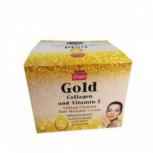 Укрепляющий Лифтинг Крем для Лица с Золотом Коллагеном и Витамином Е - Banna, 100 мл