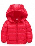 Куртка детская с капюшоном
