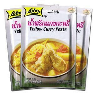 Паста для приготовления Тайской версии желтого карри