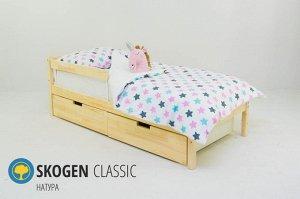 """Детская кровать Бельмарко """"Skogen classic натура"""