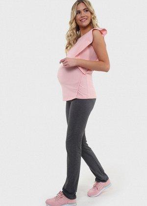 """Костюм """"Арабелла"""" для беременных и кормящих; цвет: антрацит/пудровый"""