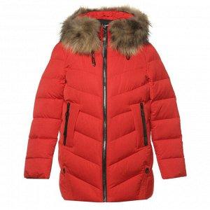 Куртка женская с натуральным мехом, Krasnay Lisa (Китай)